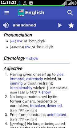 Offline Collins Dictionary