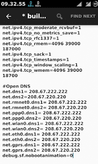 open dns on mobile data