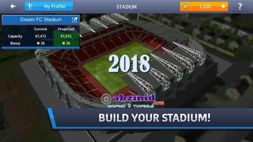 Dream league 2018 v1.1