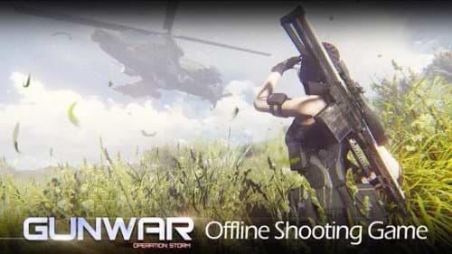 gun war hooting game mod