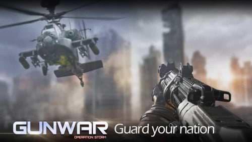 download gun war hooting game mod