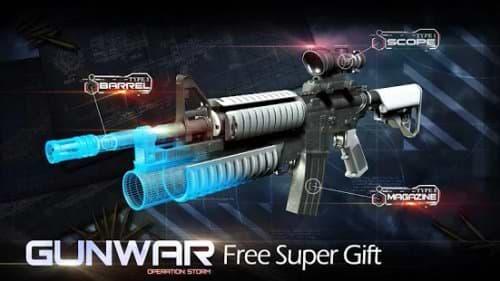 gun war hooting game mod apk