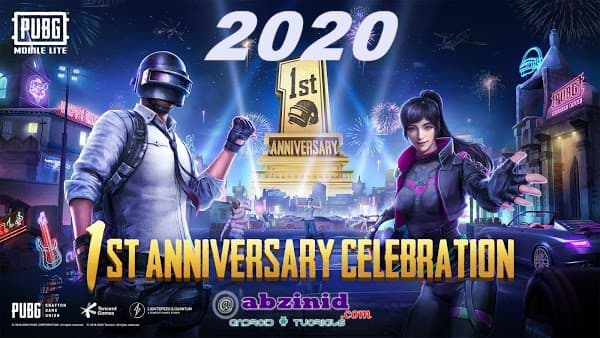 PUBG Mobile lite obb data first anniversary